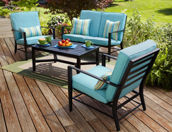 Walmart Replacement Cushions Walmart Outdoor Patio Furniture