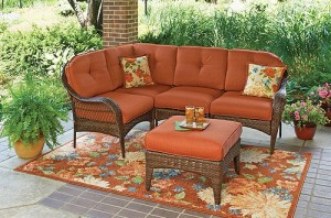 Amazing Better Homes And Gardens Azalea Ridge 5 Piece Sectional Replacement Cushions