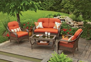 Better homes and gardens patio chair replacement cushions Better homes and gardens seat cushions
