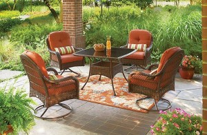 Better homes and gardens azalea ridge cushions walmart for Better homes and gardens azalea ridge chaise lounge