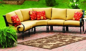 Englewood Conversation Set Replacement Cushion Garden Winds. OUTDOOR LIVING.