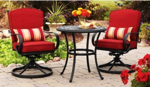 Better Homes and Gardens Fairglen 3-piece Bistro Set Replacement Cushions