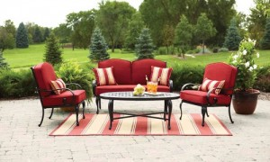 Better Homes and Gardens Fairglen 4-piece Patio Conversation Set Replacement Cushions