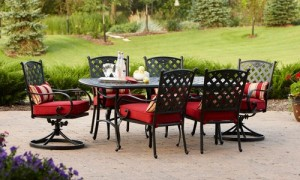 Lovely Better Homes And Gardens Fairglen 7 Piece Dining Set Replacement Cushions