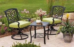 Better Homes And Gardens Hillcrest 3 Piece Bistro Set Replacement Cushions