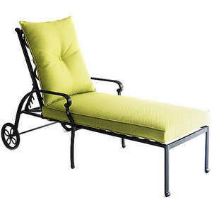 Better homes and gardens hillcrest cushions walmart for Better homes and gardens hillcrest outdoor chaise lounge
