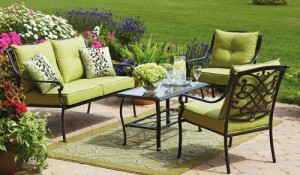 Better Homes and Gardens Hillcrest Conversation Set Replacement Cushions