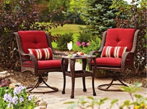 Better Homes and Gardens Lake Merritt 3-Piece Bistro Set Replacement Cushions