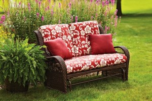 Better Homes and Gardens Lake Merritt Glider Bench Replacement Cushions