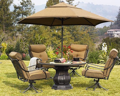 Better Homes And Gardens Mika Ridge 5 Piece Patio Dining Set Replacement  Cushions