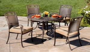 Better Homes and Gardens Lake In The Woods 5-Piece Dining Set Replacement Cushions