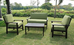 Delahey 4-Piece Patio Conversation Set Replacement Cushions