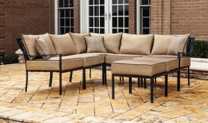 hometrends braddock heights 7piece sectional sofa set replacement cushions - Replacement Cushions For Patio Furniture