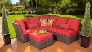 Hometrends Rushreed 3-Piece Outdoor Sectional Sofa Set Replacement