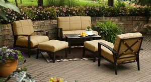Hometrends Urban Haven II Cushions | Walmart Patio Furniture Cushions