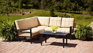 Hometrends Urban Haven II 6 Piece Outdoor Sofa Sectional Replacement  Cushions