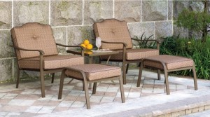 Mainstays Brookwood Landing 5-Piece Outdoor Leisure Set Replacement cushions