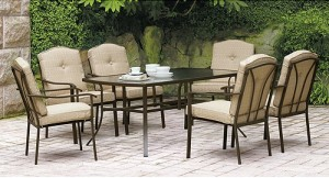 Mainstays Brookwood Landing 7-Piece Patio Dining Set Replacement Cushions