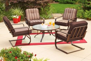 Mainstays Lawson Ridge 5-Piece Conversation Set Replacement Cushions