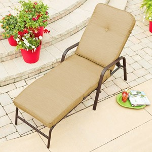 Mainstays Lawson Ridge Chaise Lounge Replacement Cushion