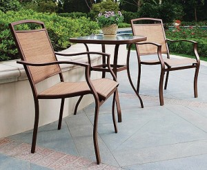 Mainstays Sand Dune 3-Piece Outdoor Bistro Set Replacement Slings