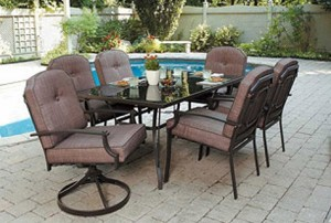 Mainstays Wentworth 7-piece Dining Set Replacement Cushions