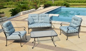 Mainstays Willow Springs 4 Piece Patio Conversation Set Replacement Cushions