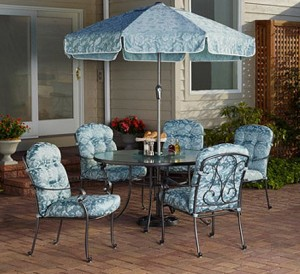 Mainstays Willow Springs 6 Piece Patio Dining Set Replacement Cushions