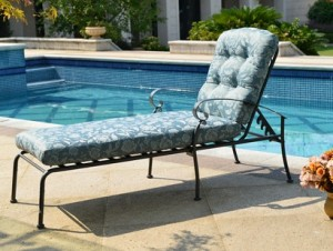 Mainstays Willow Springs Chaise Lounge Replacement Cushion