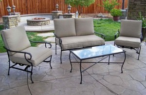 Manchester 4-Piece Patio Conversation Set Replacement Cushions