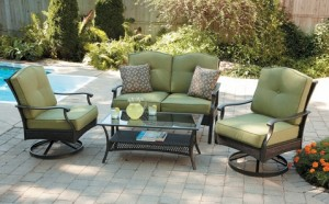 Providence 4-Piece Patio Conversation Set Replacement Cushions