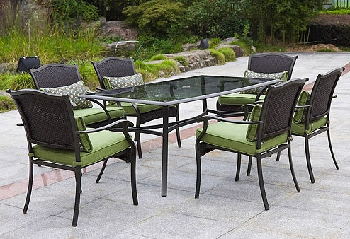 Providence 7 Piece Patio Dining Set Replacement Cushions